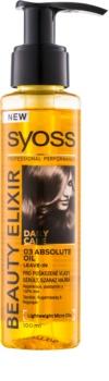 Syoss Beauty Elixir cuidado de óleo  para cabelo danificado