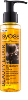 Syoss Beauty Elixir soin à l'huile pour cheveux abîmés