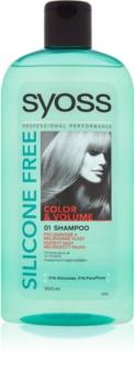 Syoss Silicone Free Color & Volume šampon za barvane lase in lase s prameni