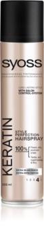 Syoss Keratin Haarspray mit extra starker Fixierung