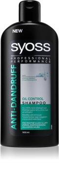 Syoss Anti-Dandruff Oil Control шампунь для жирного волосся проти лупи