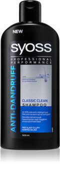 Syoss Anti-Dandruff Classic Clean shampoing rafraîchissant anti-pelliculaire
