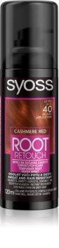 Syoss Root Retoucher тональна фарба для нанесення на відрослі корені у формі спрею