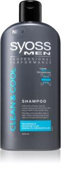 Syoss Men Clean & Cool Shampoo für normales bis fettiges Haar