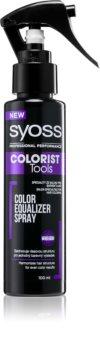 Syoss Colorist Tools spray para unificar el tono