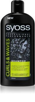 Syoss Curl Me champô hidratante para cabelos cacheados e crespos
