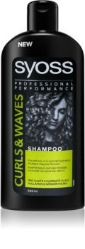 Syoss Curl Me vlažilni šampon za valovite in kodraste lase