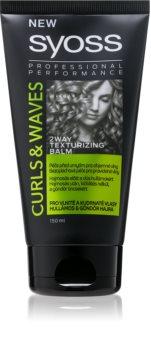 Syoss Curl Me baume de mise en valeur des cheveux bouclés