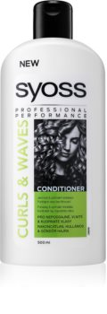 Syoss Curl Me κοντίσιονερ για πυκνά, χοντροειδή ή σγουρά μαλλιά