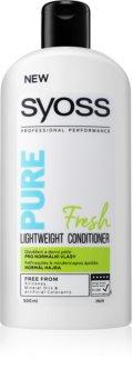 Syoss Pure Fresh odżywka odświeżająca do włosów normalnych