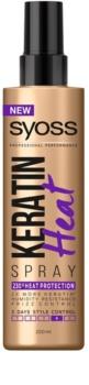 Syoss Keratin ochranný sprej pre tepelnú úpravu vlasov