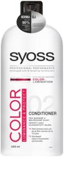 Syoss Color Luminance & Protect condicionador para cabelo pintado