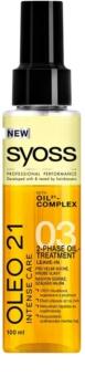 Syoss Oleo 21 óleo de tratamento