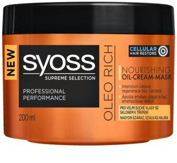 Syoss Supreme Selection Oleo Rich hranilna maska za lase
