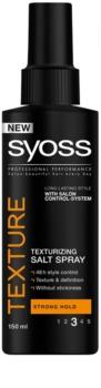 Syoss Texture spray texturizante con sal