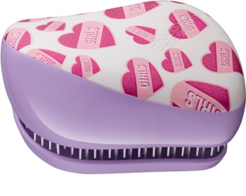 Tangle Teezer Compact Styler Girl Power Hair Brush