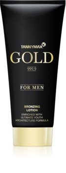 Tannymaxx Gold 999,9 lapte de bronzare la solar pentru barbati