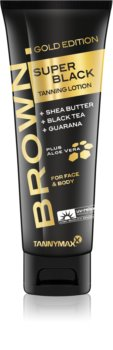 Tannymaxx Brown Super Black Gold Edition Tanning Bed Sunscreen for Tan Enhancement