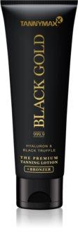 Tannymaxx Black Gold 999,9 Zonnebrandcrème met Bronzer voor Intensieve Bruining
