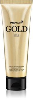 Tannymaxx Gold 999,9 crema abbronzante per solarium per prolungare l'abbronzatura