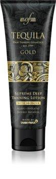 Tannymaxx Art Of Sun Tequila Gold crema abbronzante per solarium con effetto brillante  per stimolare l'abbronzatura