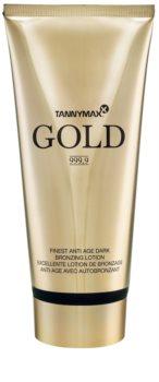 Tannymaxx Gold 999,9 creme de bronzeamento para solário