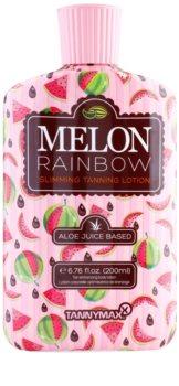 Tannymaxx 6th Sense Melon Rainbow crema abbronzante dimagrante solarium per un'abbronzatura intensa
