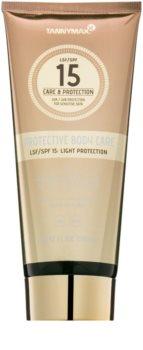 Tannymaxx Protective Body Care SPF lapte de corp pentru soare rezistent la apa SPF 15