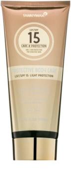 Tannymaxx Protective Body Care SPF vodeodolné mlieko na opaľovanie SPF 15