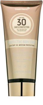 Tannymaxx Protective Body Care SPF vodeodolné mlieko na opaľovanie SPF 30