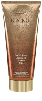 Tannymaxx Trés Jolie crema abbronzante per solarium con effetto brillante