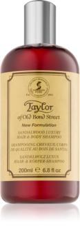Taylor of Old Bond Street Sandalwood šampon in gel za prhanje