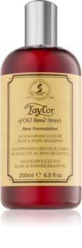 Taylor of Old Bond Street Sandalwood shampoing et gel douche