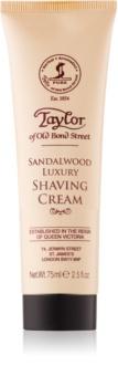 Taylor of Old Bond Street Sandalwood Shaving Cream in Tube