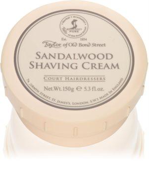 Taylor of Old Bond Street Sandalwood crème à raser