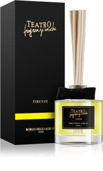 Teatro Fragranze Borgo Degli Agrumi dyfuzor zapachowy z napełnieniem 100 ml