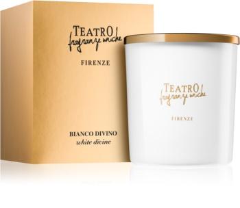 Teatro Fragranze Bianco Divino vonná sviečka 180 g