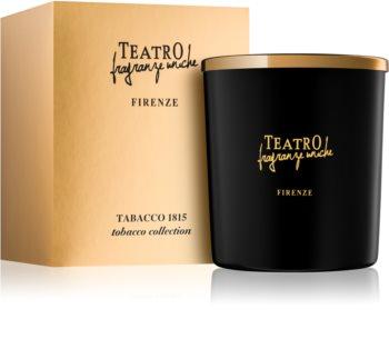 Teatro Fragranze Tabacco 1815 lumânare parfumată  180 g