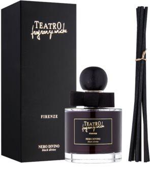 Teatro Fragranze Nero Divino diffuseur d'huiles essentielles avec recharge 100 ml