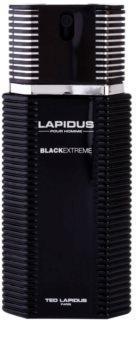 Ted Lapidus Lapidus Pour Homme Black Extreme eau de toilette para hombre 100 ml
