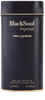 Ted Lapidus Black Soul Imperial Eau de Toilette for Men 100 ml