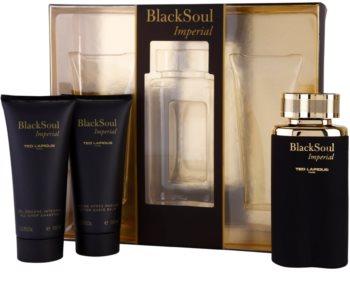Ted Lapidus Black Soul Imperial darčeková sada I.