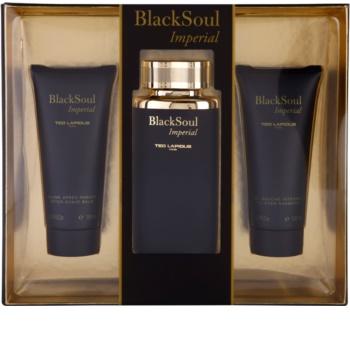 Ted Lapidus Black Soul Imperial coffret cadeau I.