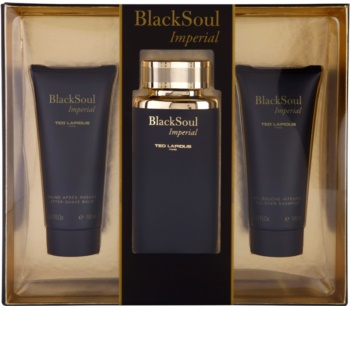 Ted Lapidus Black Soul Imperial Gift Set I.