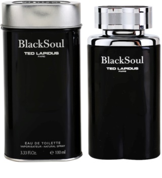 Ted Lapidus Black Soul Eau de Toilette for Men 100 ml