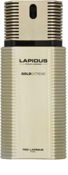 Ted Lapidus Gold Extreme eau de toilette per uomo 100 ml