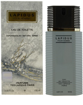 Ted Lapidus Lapidus Pour Homme Eau De Toilette For Men 100 Ml