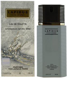 Ted Lapidus Lapidus Pour Homme eau de toilette para homens 100 ml