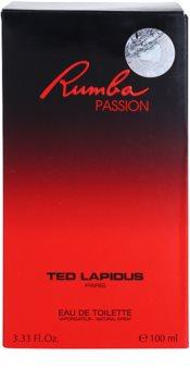 Ted Lapidus Rumba Passion Eau de Toilette für Damen 100 ml