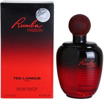 Ted Lapidus Rumba Passion Eau de Toilette voor Vrouwen  100 ml